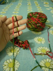 Finger Knitting 2